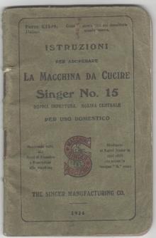 Vittoria libri catalogo generale scheda singer for Porta bobina macchina da cucire